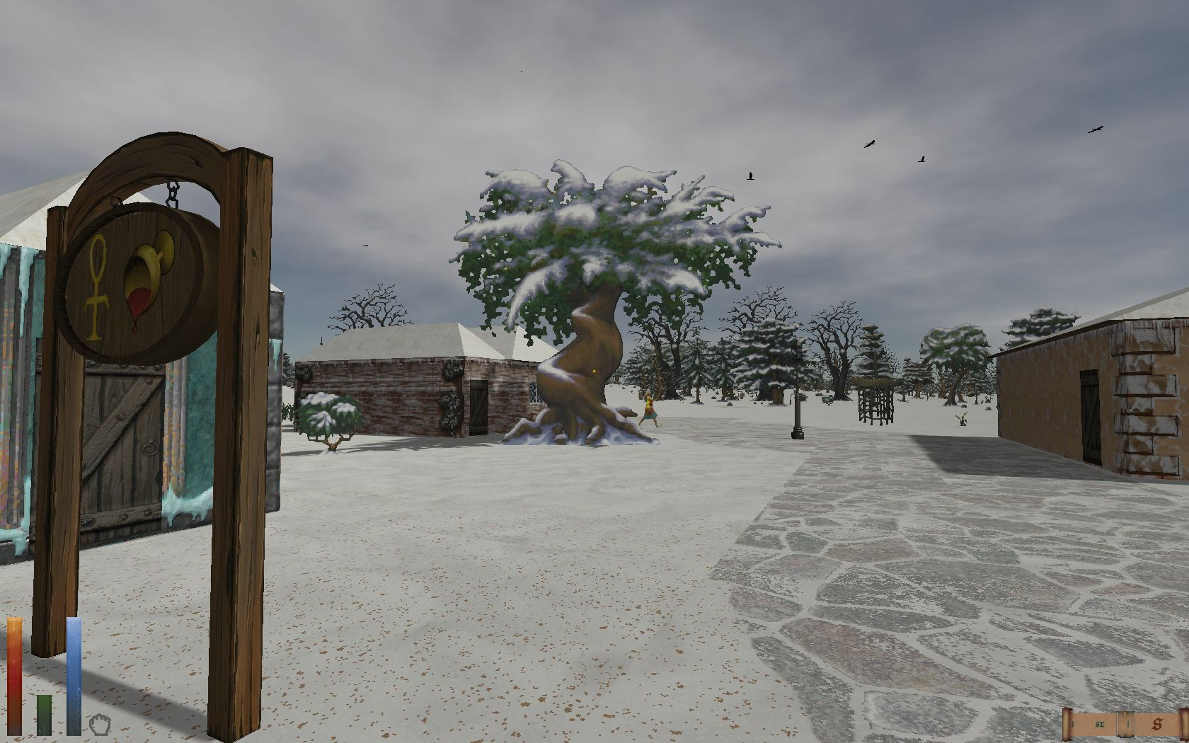 Screenshot Daggerfall (Grayidge, Tulune)