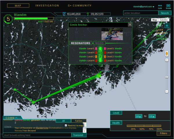 Screenshot Ingress.com/intel