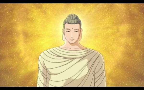 The Buddha, from anime The Golden Laws